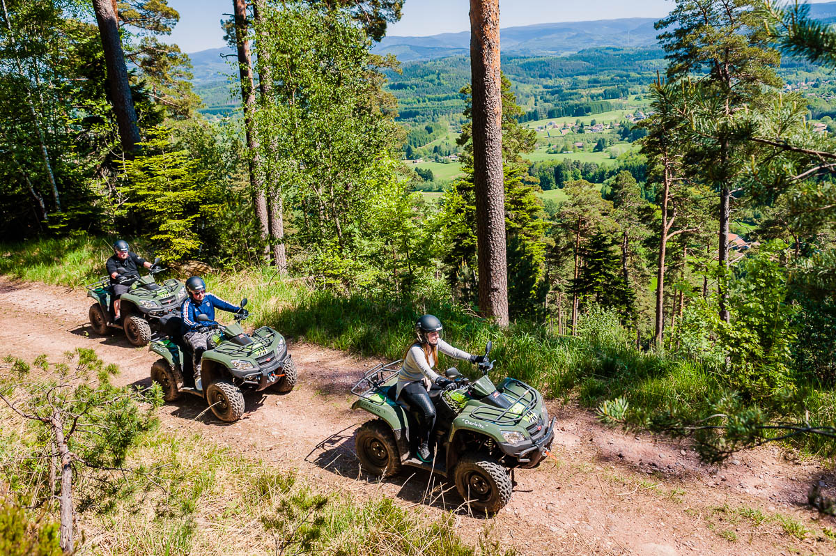 louer un quad dans les Vosges